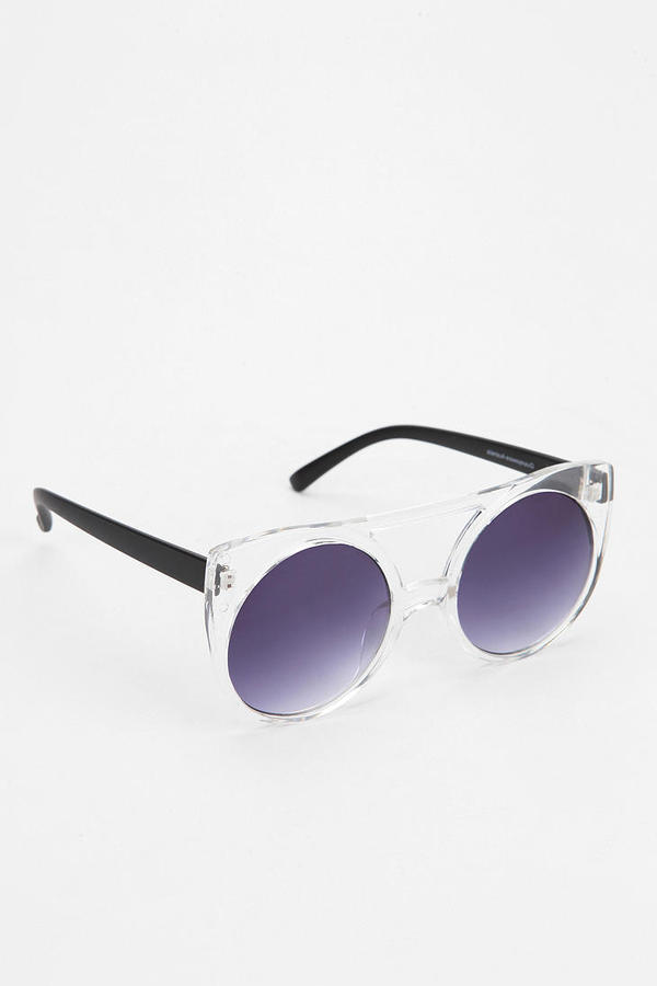 Quay Hollie Cat-Eye Sunglasses
