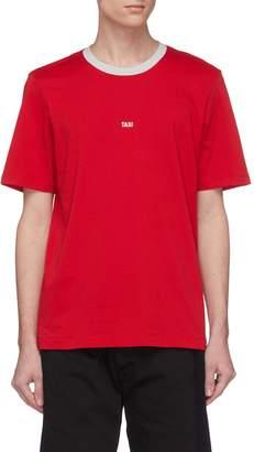 Helmut Lang 'Taxi' slogan print T-shirt