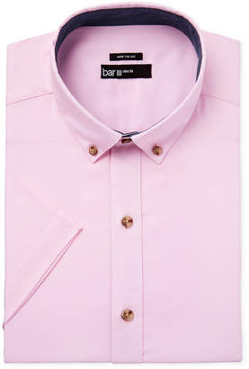 Bar III Men's Slim-Fit Oxford Short-Sleeve Dress Shirt, Only at Macy's $60 thestylecure.com