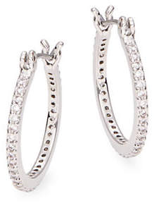 Kate Spade Pave Hoop Earrings - 0.75in