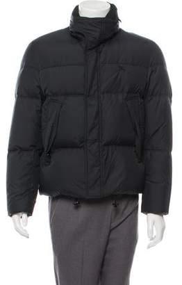 Burberry Nova Check Lined Puffer Jacket