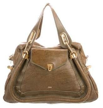Chloé Leather Paraty Bag gold Chloé Leather Paraty Bag