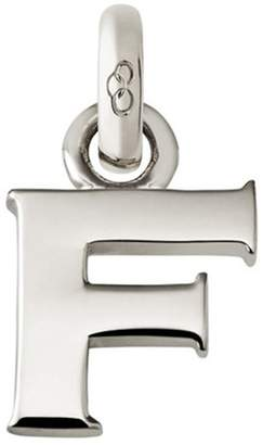 Links of London Sterling Silver Letter F Charm