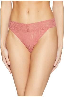 Hanky Panky Signature Lace Original Rise Thong Women's Underwear