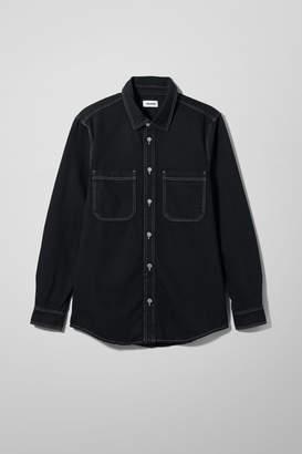 Weekday Lean Tuned Black Shirt - Black