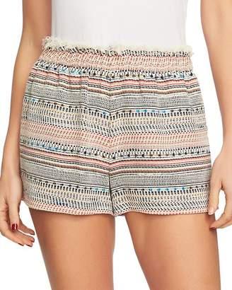 1 STATE 1.STATE Frayed Tweed Shorts