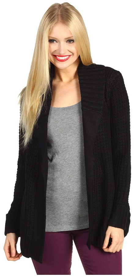 Brigitte Bailey - KC Cardigan (Black) - Apparel