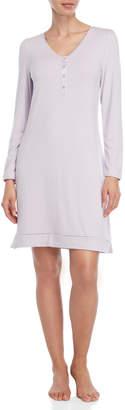 La Perla Long Sleeve Henley Night Dress
