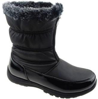 Unbranded Women's Quilted Zip Winter Boot