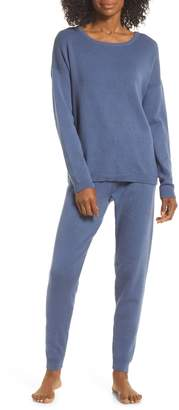 Papinelle Luxe Pointelle Sweater Pajamas