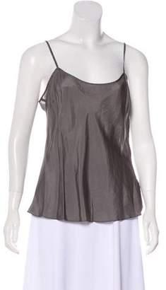 DKNY Silk-Blend Sleeveless Top