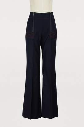 Sportmax Ely wool pants