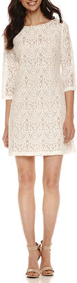 Ronni Nicole 3/4 Sleeve Lace Sheath Dress $72 thestylecure.com