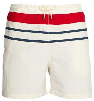 Solid & Striped The Classic Swim Shorts - Mens - White Multi