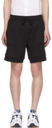 BOSS Black Panelled Shorts