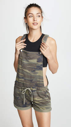 Z Supply The Camo Short Overalls
