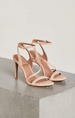 BCBGMAXAZRIA Amilia Leather Ankle Strap Sandal
