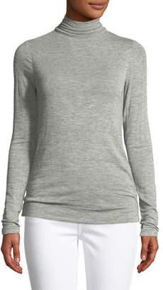 Halston Long-Sleeve Turtleneck Sweater