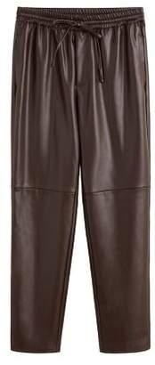 MANGO Adjustable waist trousers