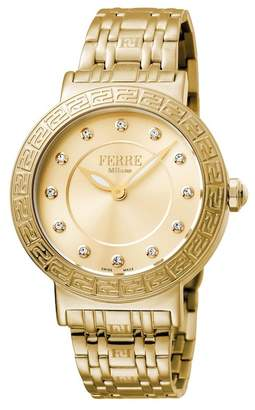 Ferré Milano Women's Stainless Steel Watch, 38mm