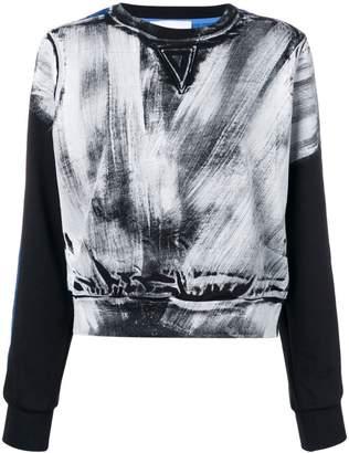 NO KA 'OI No Ka' Oi paint print sweatshirt