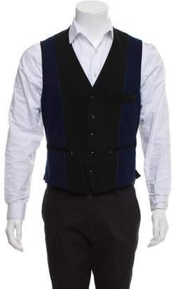Y-3 Colorblock Tuxedo Vest