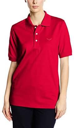 Trigema Women's 521601 Regular Fit Polo Short Sleeve Polo Shirt - Black - 24