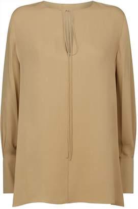 Theory Silk Tunic Blouse