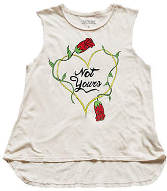 HIPS AND HAIR Not Yours Muscle Tee