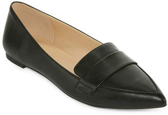 A.N.A Womens Glen Ballet Flats Slip-on Pointed Toe