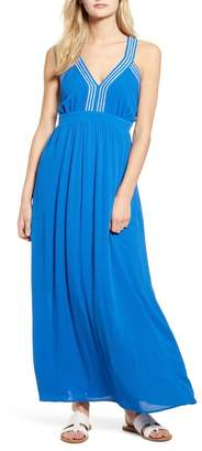Gibson x Hi Sugarplum! Santorini Adjustable Strap Maxi Dress (Regular & Petite)