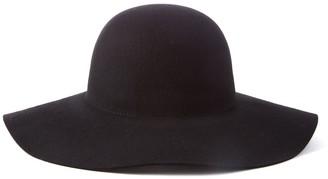 Scala Big Brim Wool Felt Floppy Hat