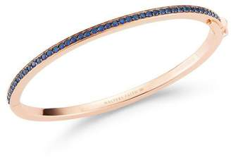 Walters Faith Grant 18K All Diamond Or Sapphire Hinged Cuff Bracelet