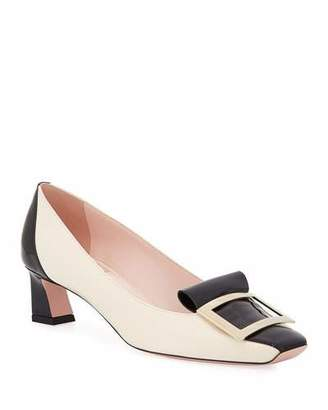 Roger Vivier Trompette Slip-On Buckle Pumps
