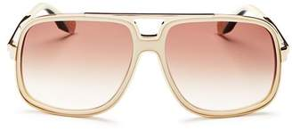 Marc Jacobs Women's Brow Bar Square Sunglasses, 60mm