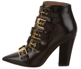 Laurence Dacade Buckle-Accented Ankle Boots $325 thestylecure.com