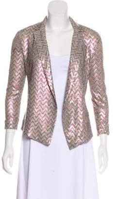 Ella Moss Sequin Open Front Jacket w/ Tags
