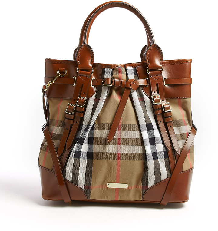 Burberry Whipstitch Medium Tote Bag