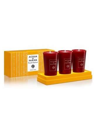 Acqua di Parma Mini Scented Candles Gift Set, 3 x 2.3 oz./ 65 g