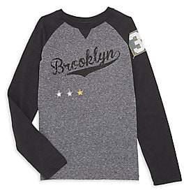 Butter Shoes Little Boy's& Boy's Raglan Long Sleeve T-Shirt