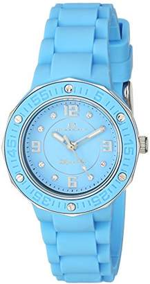 Oceanaut Women's 'Acqua Star' Quartz Stainless Steel and Silicone Casual Watch