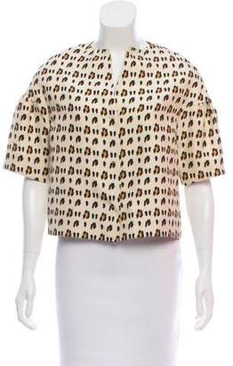 Giambattista Valli Lightweight Leopard Printed Jacket