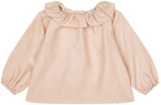 Belle Enfant Ruffle Collar Blouse