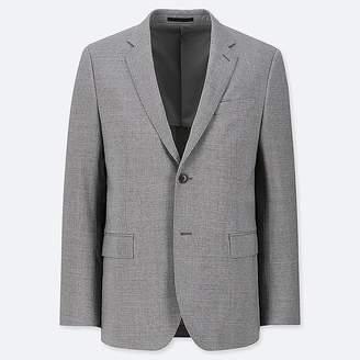 Uniqlo Men's Stretch Slim-fit Wool Jacket