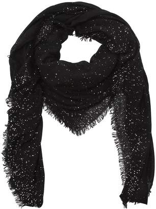 Faliero Sarti Domenica Sequined Wool Blend Scarf