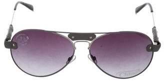 Chloé Tinted Aviator Sunglasses