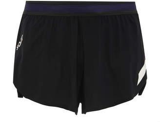 Soar Running Striped Stretch-Shell Running Shorts