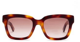 BOSS HUGO BOSS Women's Retro Sunglasses $195 thestylecure.com