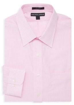 Saks Fifth Avenue Gingham Dress Shirt