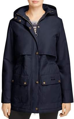 Barbour Stratus Rain Jacket $319 thestylecure.com
